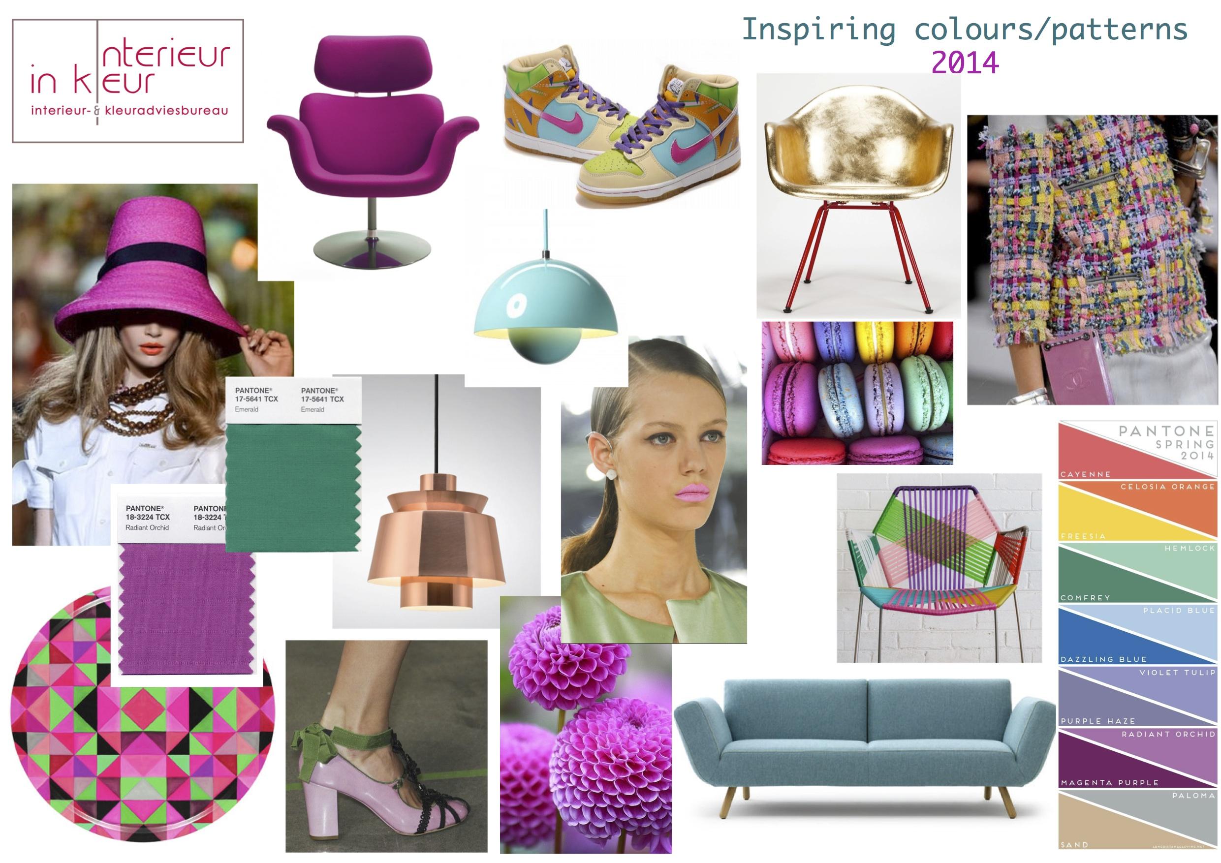 Inspirerende kleuren 2014